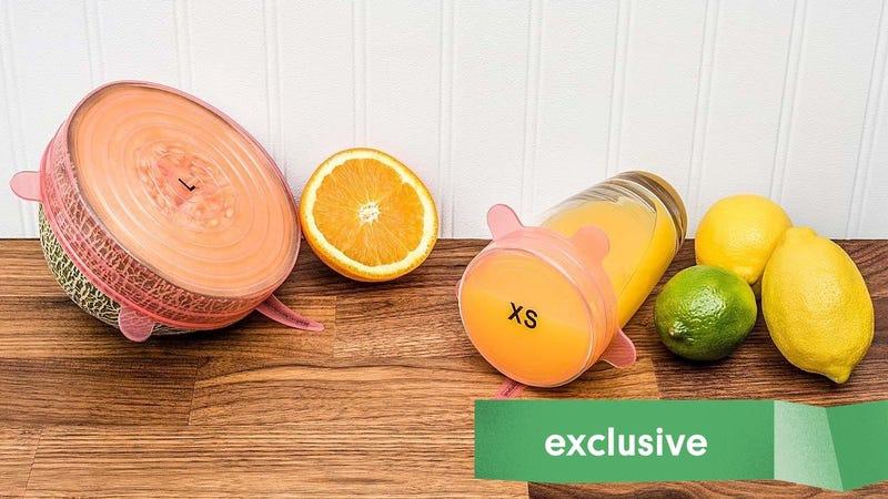 Tomorrow's Kitchen Silicone Stretch Lids 12-Pack | $14 | Amazon | Promo code 20OFFKINJA