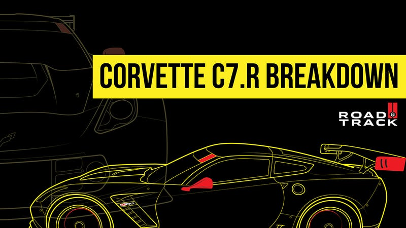 Illustration for article titled Corvette C7.R: A visual breakdown and a chat with Jordan Taylor