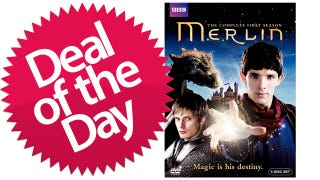 Illustration for article titled Merlin Season 1 on DVD Is Your How-Much-Freaking-Longer-Can-He-Keep-This-Secret Deal of the Day