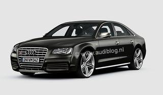 Illustration for article titled 2011 Audi S8: Rendered
