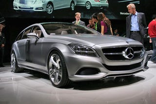 Illustration for article titled Mercedes CLS Shooting Brake: Yes, They're Really Building It
