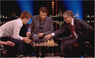 Illustration for article titled El mejor jugador de ajedrez del mundo gana a Bill Gates en 79 segundos
