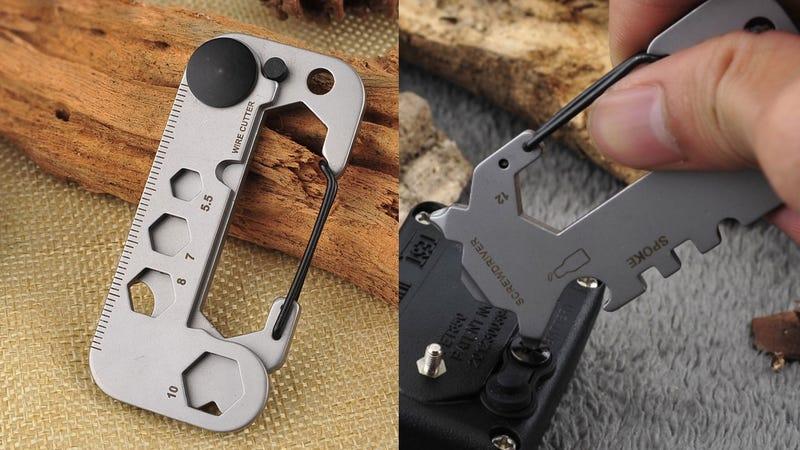 Gear Grit G2 Multitool Carabiner | $14 | Gear Grit | Promo code G2MULTIX50