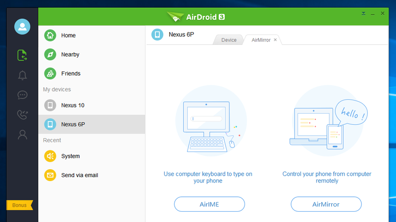 Illustration for article titled AirDroid Can Now Share Your Clipboard and Keyboard With Your PC