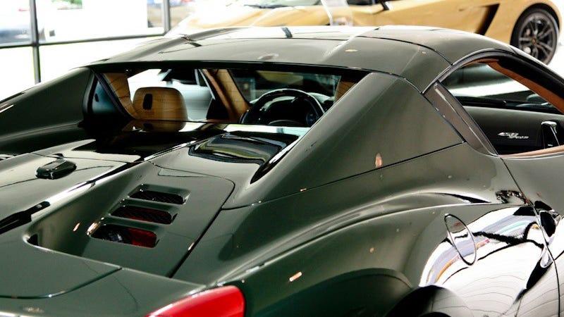 i cant stop staring at this green ferrari 458 - Ferrari 458 Spider Green