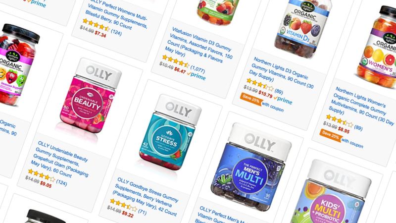 Rebajas de Amazon en vitaminas