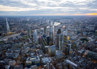 Illustration for article titled This is what London's skyline could look like in 20 years