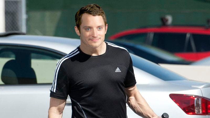 Illustration for article titled Whoa: Elijah Wood Got RIPPED For His Directorial Debut