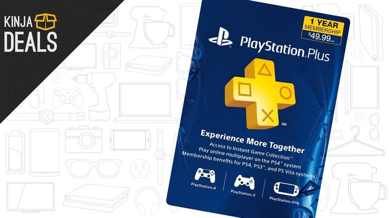 Illustration for article titled Your New PS4 Isn't Complete Without PlayStation Plus, So Get It Today For $10 Off
