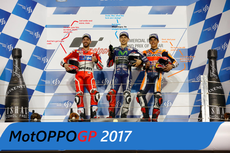 Illustration for article titled MotOPPO GP 2017: Katara's Motorcycling Grand Prix