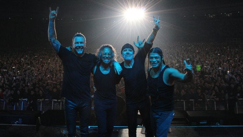 Photo: Metallica/Getty Images