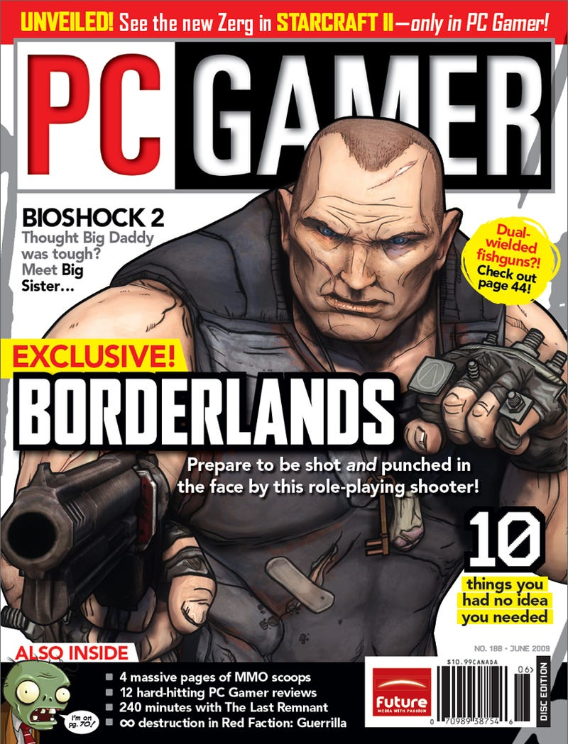 Illustration for article titled Here's What Borderlands Looks Like Now
