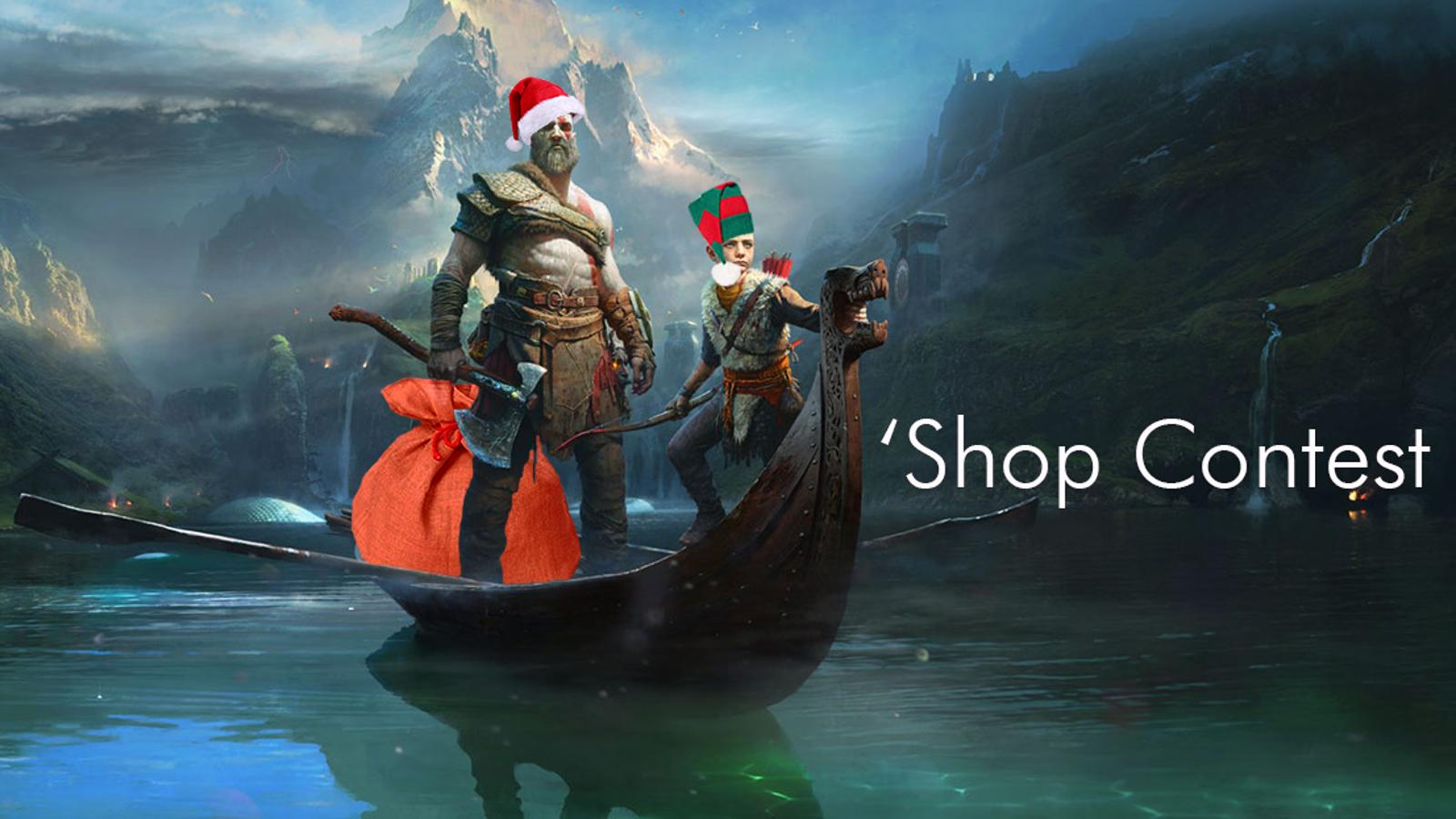 QnA VBage 'Shop Contest: Everyone Is Santa