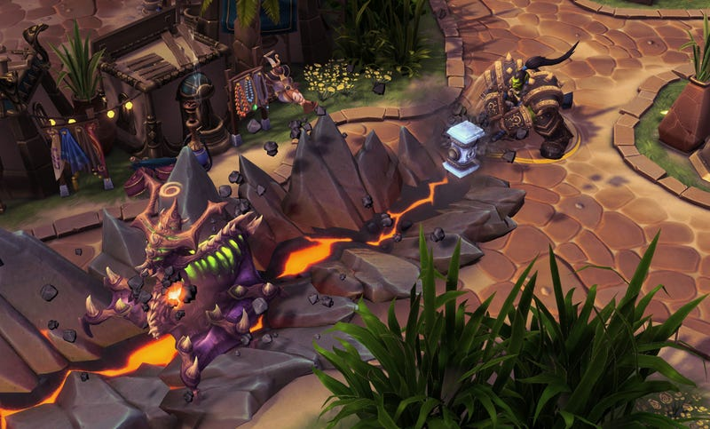 Illustration for article titled Heroes Of The Storm Proves That A New Warcraft Strategy Game Could Work