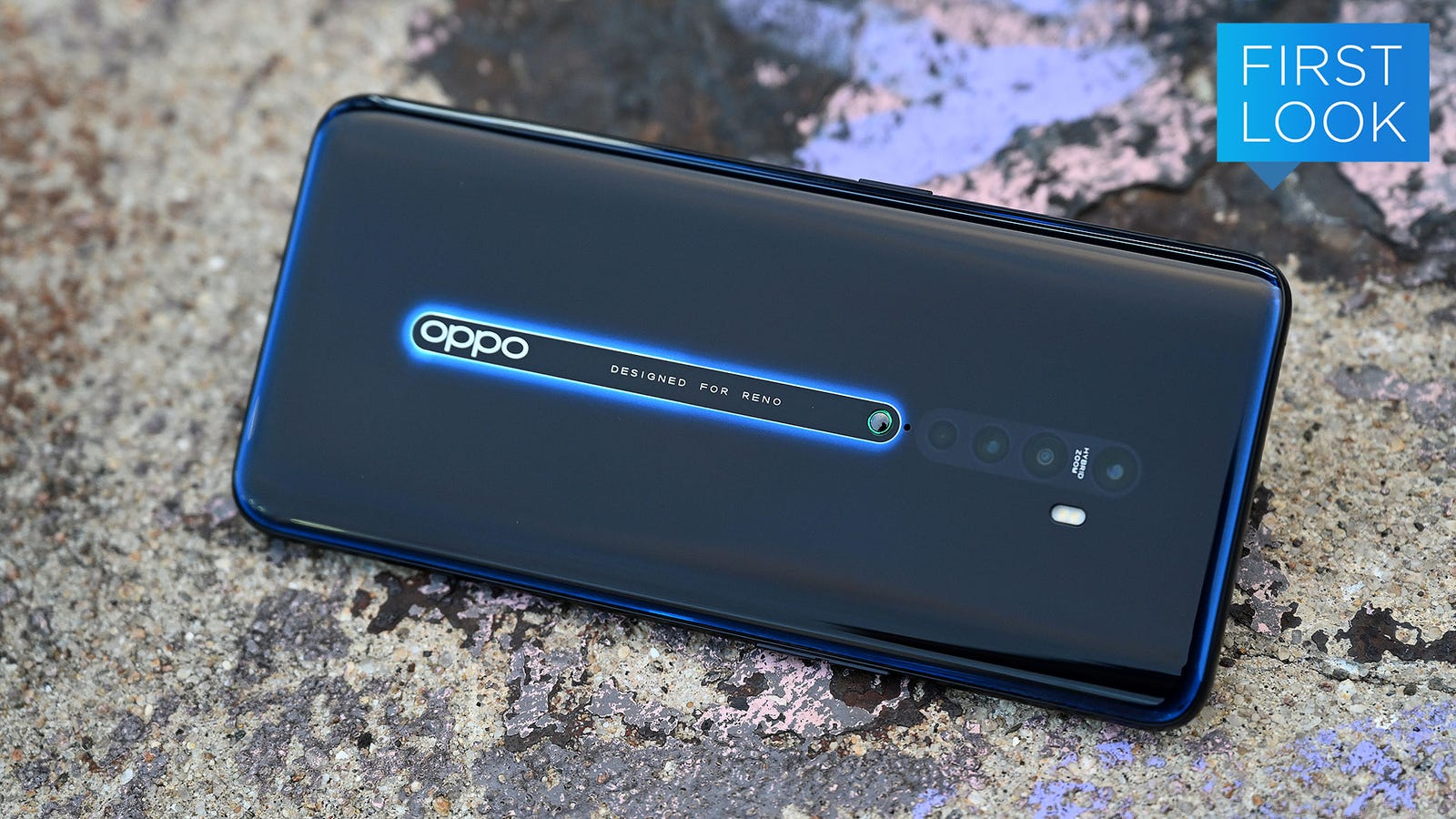 A Shark Fin and Ceramic Nipple Make the Oppo Reno 2 Wacky, Yet Sophisticated