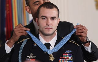 Medal of Honor recipient Salvatore Giunta