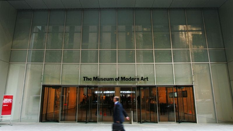 Illustration for article titled Visiting the Museum Of Modern Art, via DVD