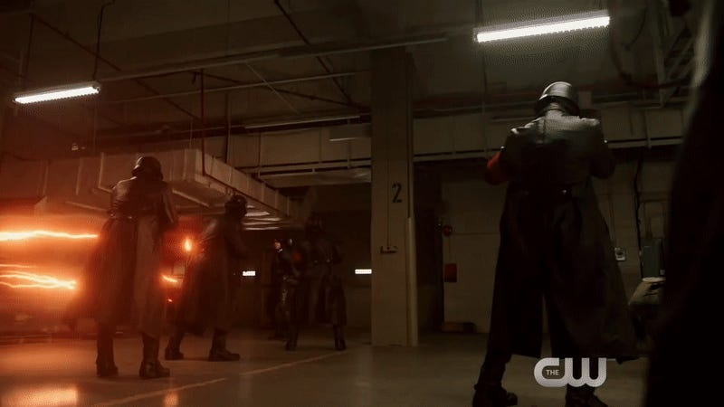Everyone's Excited to Punch Nazis In the Latest Trailer for Crisis on Earth-X