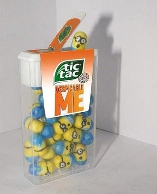 Illustration for article titled TicTac Minions!