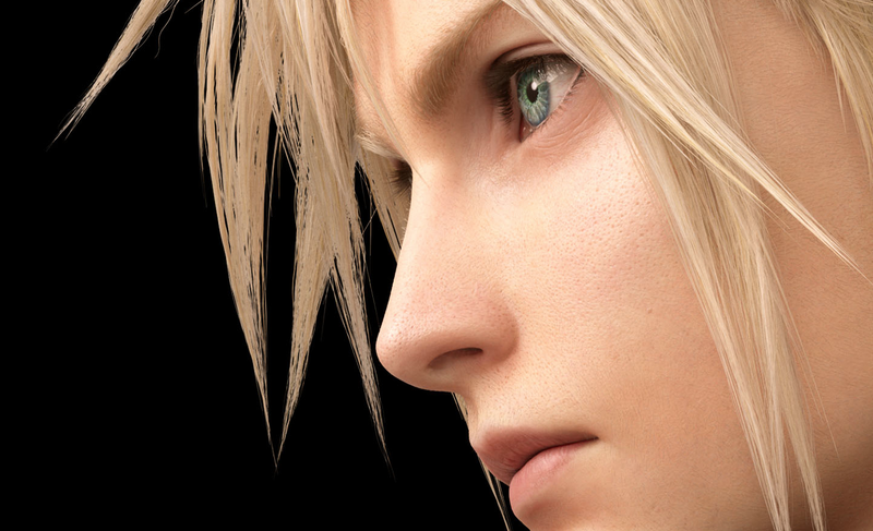 Illustration for article titled Final Fantasy VII Remake Renders Provide A Good Look At Cloud's Pores