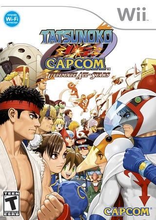 Illustration for article titled Tatsunoko Vs Capcom: Ultimate All-Stars Gets A Cover