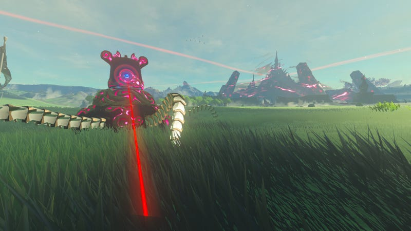 Illustration for article titled Breath Of The Wild First-Person Mod Kicks All Kinds Of Ass