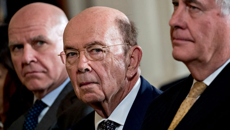 Illustration for article titled Wilbur Ross Shakes Self Awake After Briefly Dying During Cabinet Meeting