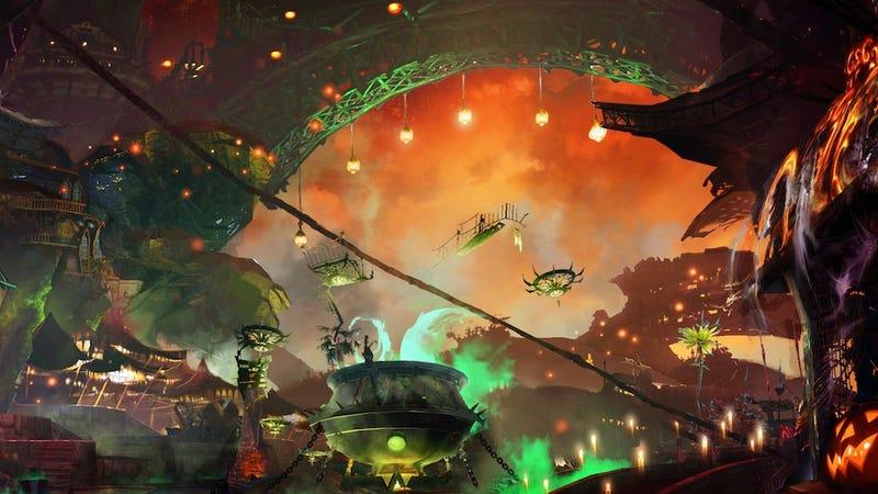 Illustration for article titled Trick Or Treat! Starting Today, Guild Wars 2 Gets Even Bigger