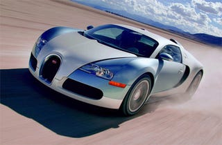 Illustration for article titled Bugatti Veyron Centenaire: 273 MPH Top Speed?