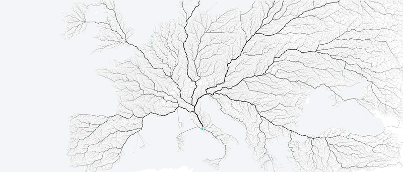 Illustration for article titled Not All Roads Actually Lead to Rome