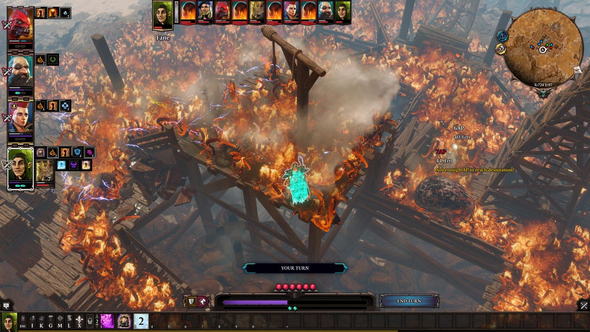 Divinity: Original Sin 2 Battles Sure Do Escalate Quickly