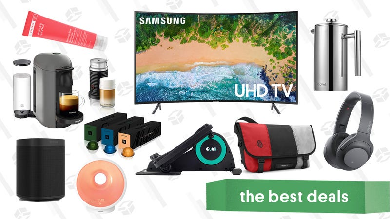 Illustration for article titled Friday's Best Deals: Sonos One, J.Crew, Sony Headphones, Nespresso, and More