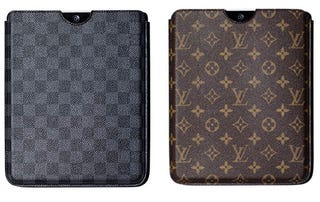 Illustration for article titled Louis Vuitton iPad Case Costs Nearly as Much as an iPad