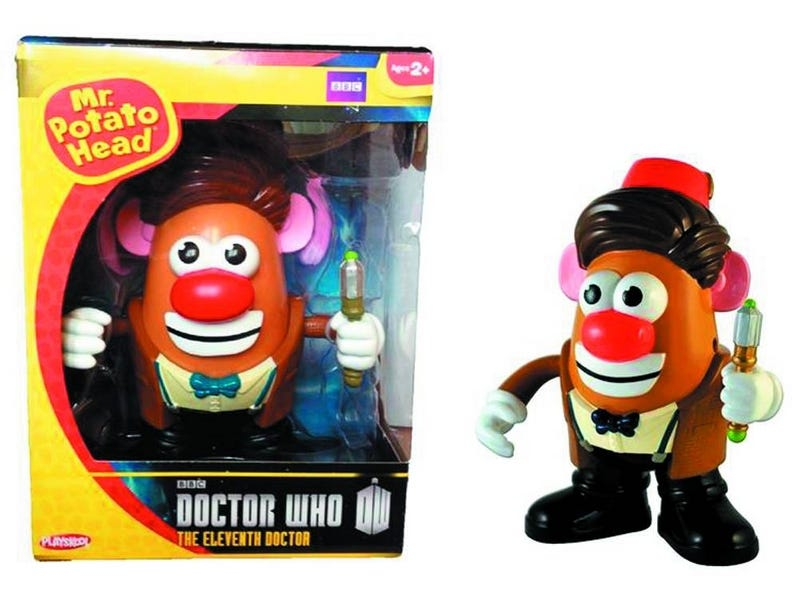 Illustration for article titled Doctor Who is finally validated with an official Mr. Potato Head toy