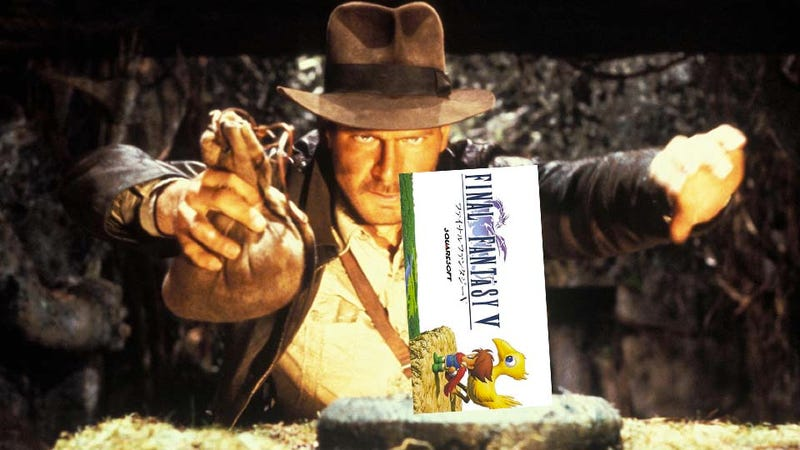 Illustration for article titled Without Final Fantasy V, This RPG Boss Would Have Been Indiana Jones