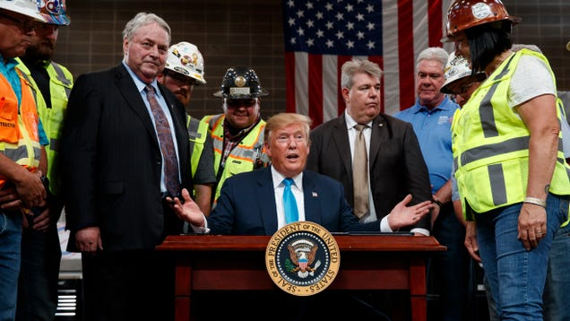 Trump Signs More Executive Orders to Push Pipeline Projects Through at All Costs