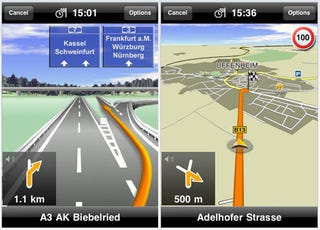"Illustration for article titled Navigon GPS Navi iPhone App: Europe-Only Maps, $95 ""Special Introduction Price"""
