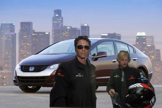 Illustration for article titled Honda Looks To Follow GM By Fueling Hydrogen Hopes With Hollywood Hype