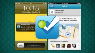Illustration for article titled Foursquare Update Brings Location-Aware Reminders and Notifications to Your iPhone