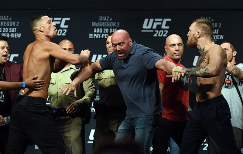 Illustration for article titled UFC 202 Isn't Conor McGregor's Show, It's Nate Diaz's