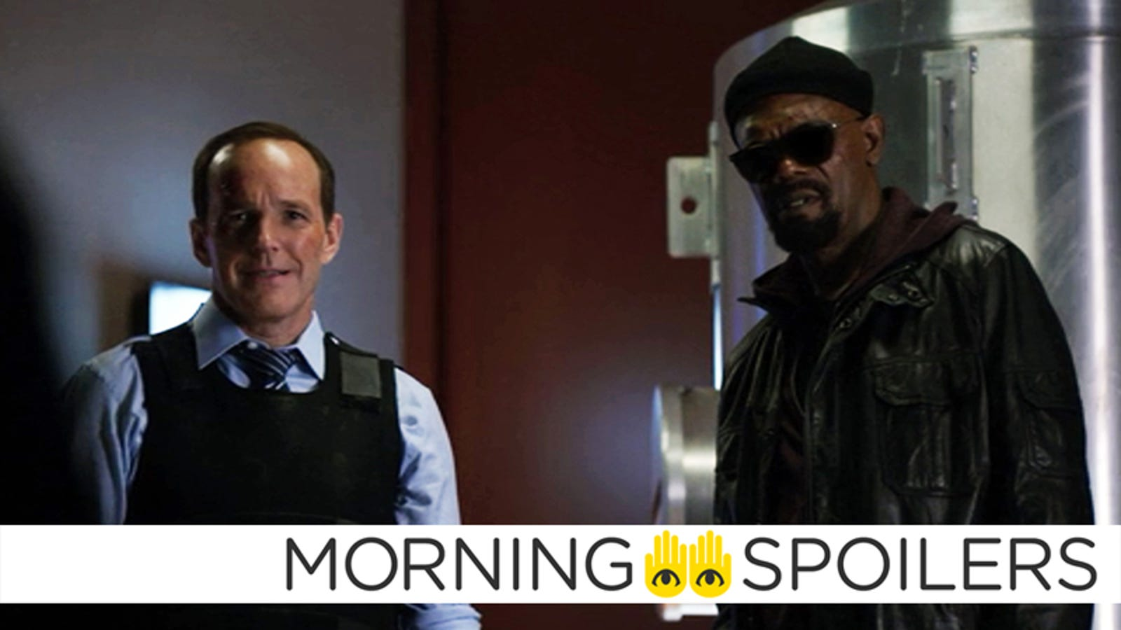 photo image Captain Marvel's Clark Gregg Teases Coulson's Early Relationship With Nick Fury