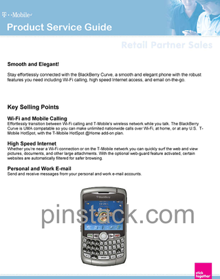 Illustration for article titled T-Mobile's BlackBerry Curve 8320 Gets HotSpot @ Home Compatibility