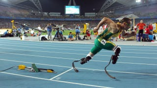 Illustration for article titled Double Amputee Oscar Pistorius Will Compete In The 2012 Olympics