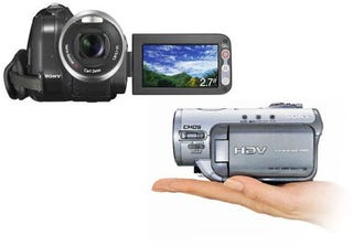 Illustration for article titled Sony HDR-HC3E HDV Camcorder to Ship in April