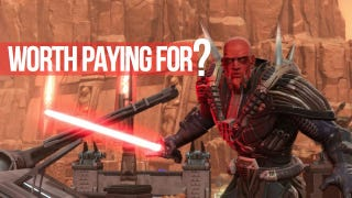 Illustration for article titled BioWare is 'Looking at Free-to-Play' for Star Wars: The Old Republic