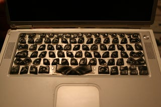 Illustration for article titled Nancy Drew and the Case of the Melted G4 Keyboard