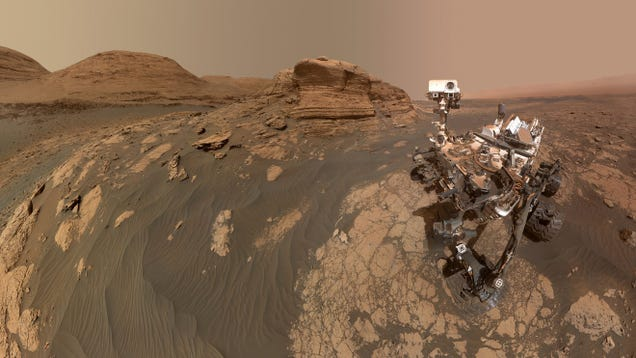 NASA's 'Other' Mars Rover Sends Back a Selfie to Remind Us It Still Exists