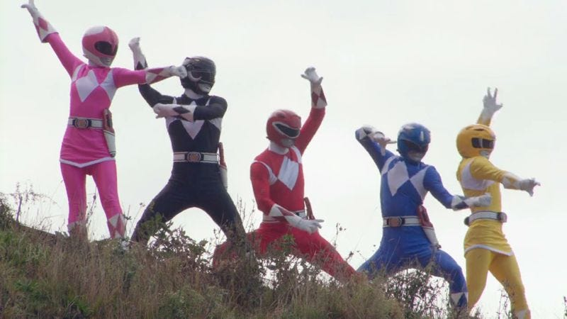 Illustration for article titled Mighty Morphin Power Rangers assembles usual comic-book movie team