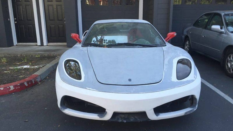 I See Nothing Wrong With This Celica Based Ferrari F430