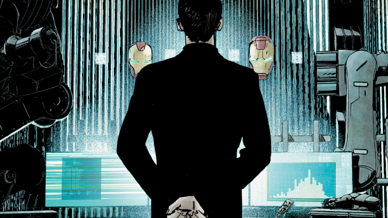 Illustration for article titled We've Got the Biggest Clue Yet About What Happens to Tony Stark After Civil War II